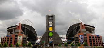 Qwest field stadium Stock Photos