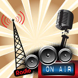 Rádio Fotos de Stock