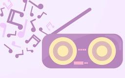 rádio Imagem de Stock