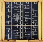 Rádio análogo velho imagens de stock royalty free