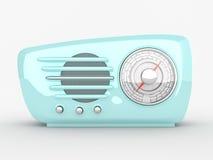 Rádio antiquado do vintage Imagens de Stock Royalty Free