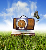 Rádio clássico foto de stock royalty free
