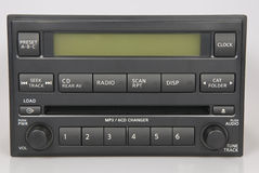 Rádio conservado em estoque de Nissan Bose Fotografia de Stock Royalty Free