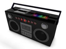 rádio 3d Imagem de Stock