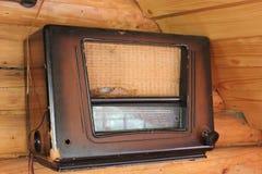 Rádio da câmara de ar de vácuo imagem de stock