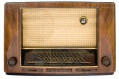 Rádio da câmara de ar do vintage com trajeto Foto de Stock