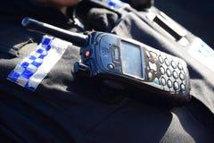 Rádio da polícia de Devon e de Cornualha Imagens de Stock Royalty Free