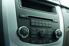 Rádio de carro Imagem de Stock Royalty Free