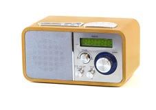 Rádio de madeira velho Imagens de Stock Royalty Free
