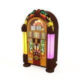 Rádio do jukebox Imagens de Stock Royalty Free
