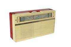 Rádio do transistor do vintage foto de stock