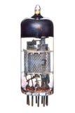 Rádio do tubo 1950-60's de Vacum & componente da televisão Imagens de Stock Royalty Free