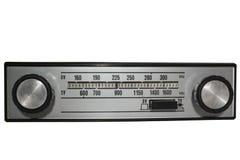 Rádio do vintage Imagem de Stock