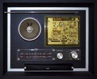 Rádio do vintage fotos de stock