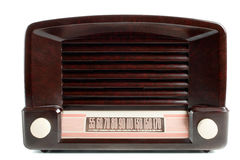 Rádio do vintage AM/FM Foto de Stock Royalty Free