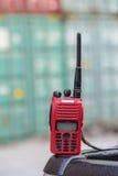 Rádio do Walkietalkie fotografia de stock