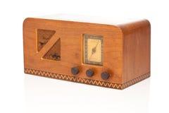 Rádio dos anos 40 do vintage Imagem de Stock