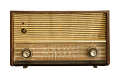 Rádio formado vintage Imagem de Stock Royalty Free