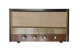 Rádio formado vintage foto de stock