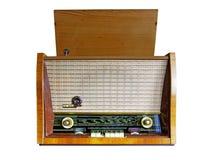 Rádio-gramofone do vintage Fotografia de Stock