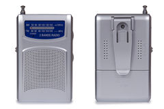 Rádio moderno fotografia de stock