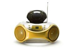 Rádio portátil e reprodutor de CDs Imagem de Stock