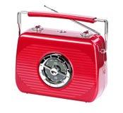 Rádio portátil vermelho de Rubin Imagens de Stock