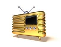 Rádio retro Fotografia de Stock Royalty Free