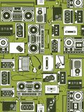 Rádio retro Foto de Stock Royalty Free