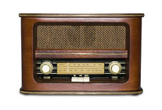 Rádio retro Foto de Stock