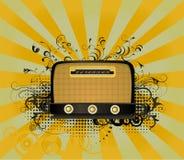 Rádio retro ilustração do vetor