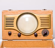 Rádio retro Fotos de Stock Royalty Free