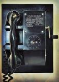 Rádio retro do navio velho do olhar foto de stock royalty free
