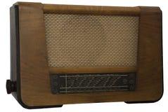 Rádio retro velho Fotografia de Stock Royalty Free