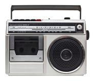 rádio 80s Imagem de Stock