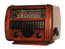 Rádio velho Fotografia de Stock