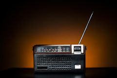 Rádio velho da forma Imagens de Stock Royalty Free
