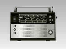 Rádio velho do russo imagens de stock