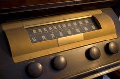 Rádio velho do tempo Fotografia de Stock Royalty Free