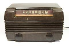 Rádio velho do tempo Imagem de Stock Royalty Free