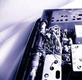 Rádio velho do transistor imagens de stock royalty free