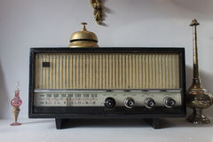 Rádio velho do vintage Imagens de Stock Royalty Free