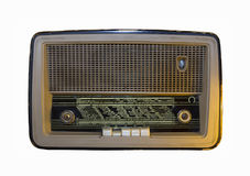 Rádio velho dos mediados do século XIX fotos de stock royalty free