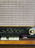 Rádio velho - jogador Imagens de Stock Royalty Free