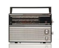 Rádio velho portátil Foto de Stock Royalty Free