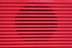 Rádio vermelho da grade Imagens de Stock