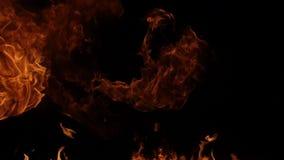 Ráfaga de fuego en negro metrajes
