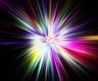 Ráfaga del arco iris Imágenes de archivo libres de regalías