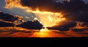 RÁFAGA DEL SOL Foto de archivo libre de regalías