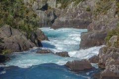 Rápidos de Aratiatia en Taupo Fotos de archivo libres de regalías